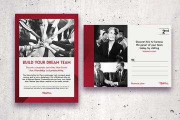 postcard corporate