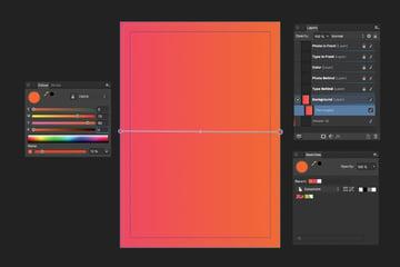 adjust gradient