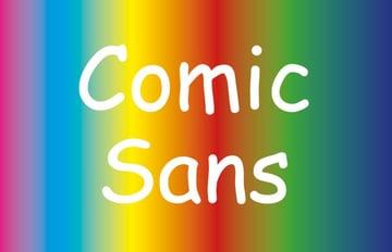comic sans font