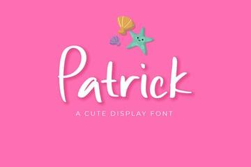 patrick font