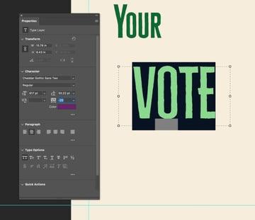 vote text