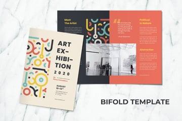 colorful brochure