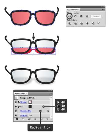 create glasses 2
