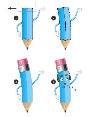 bend a pencil