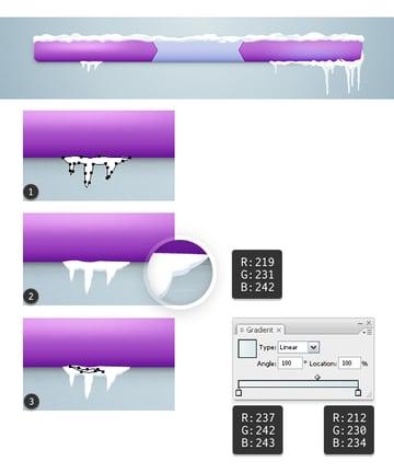 Create icicles 7