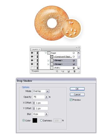 add sugar on donut 4