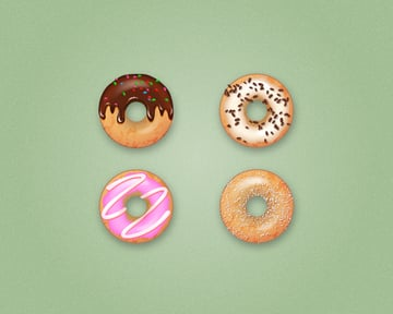 final donut icons