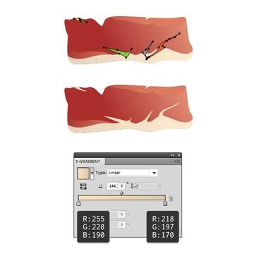 create slice of ham 4