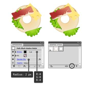 compose bagel sandwich 5
