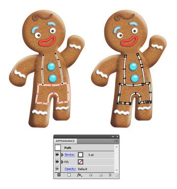create icing on gingerbread man 3