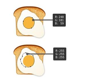 create fried egg on toast 2
