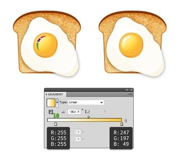 create fried egg on toast 6