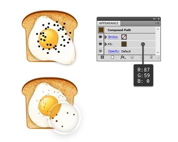 create fried egg on toast 9