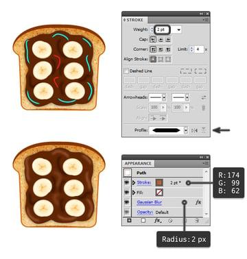create chocolate spread on toast 3