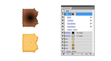 create the first biscuit hole for B