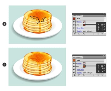 create more layers of syrup