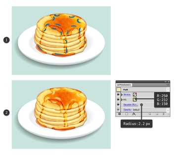 add highlights on syrup