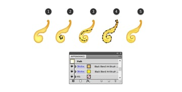 how to add details on the small acanthus leaf