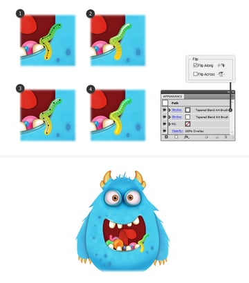 how to add shine on jelly worms