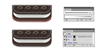 how to add details on base Oreo biscuit