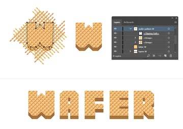 how to mask the wafer pattern