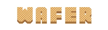 how create shading and highlight on wafer letters