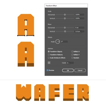 how to create the wafer layers