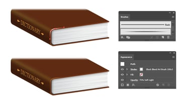 how to highlight the edge of book
