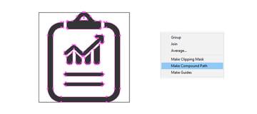 final chart report icon design