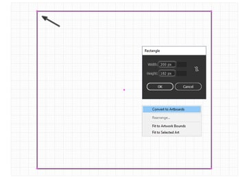 how to create artboard for icon design