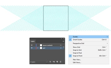 how to create a quick isometric grid in Illustrator