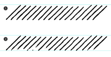 how to use the Eraser Tool to obtain a vintage brush in Illustrator