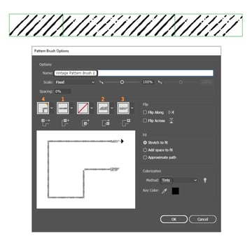 how to save a more detailed pattern brush in Adobe Illustrator