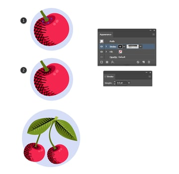 how to create shading with vintage Illustrator brushes
