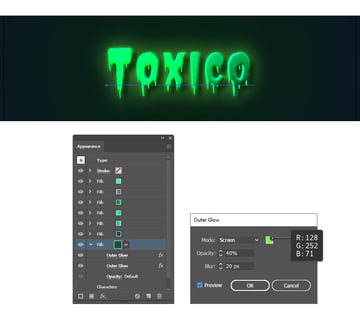 how to create a glow effect in Illustrator