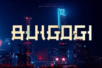 Bulgogi Font from Envato Elements recommendation