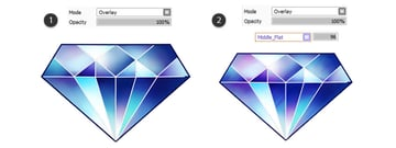 Add texture to the gem