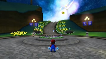 The introductory stage from Super Mario Galaxy