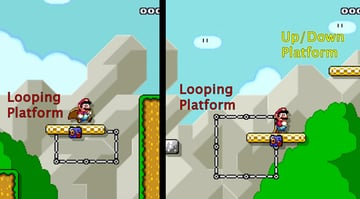 Two Mario level challenges