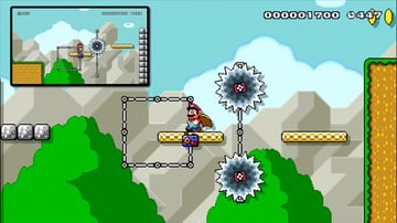 Two enemies two platforms in a Mario level