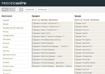 ProcessWire API