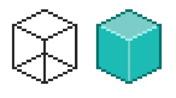 Example of isometric pixel art