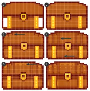 Rendering the treasure chest