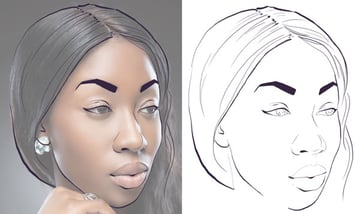 Completing the face