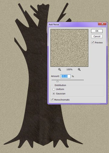 Add Noise to backgrounds to create texture