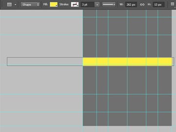 draw a long narrow rectangle
