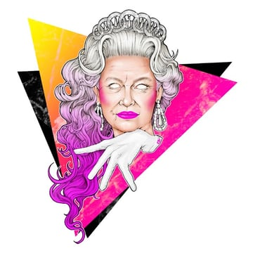 The most fabulous portrait of Queen Elizabeth II