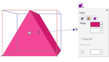 Select the Extrusion Color option