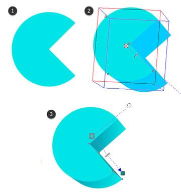 Rendering the letter C