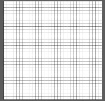Set your grids stroke color to something you can easily see